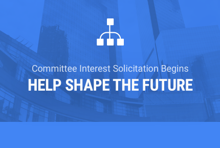 We're now soliciting interest for committee participation!